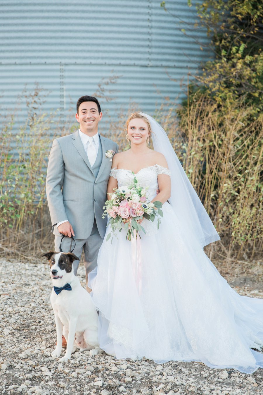 An Eclectic, Rustic Pink & Blue Texas Wedding Day | Every Last Detail