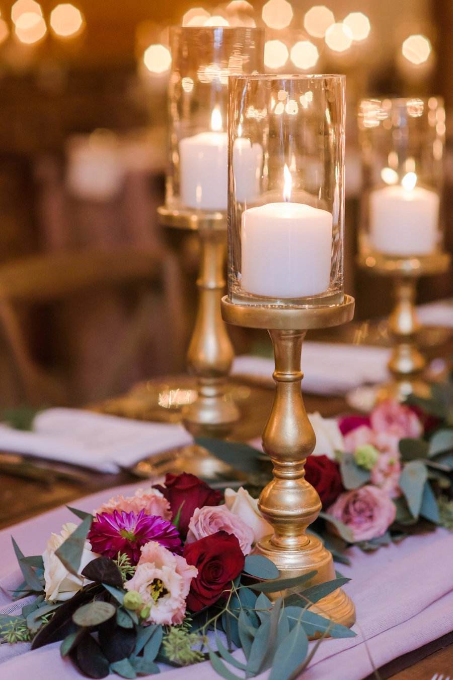 A Burgundy & Navy Rustic Elegant Florida Wedding via TheELD.com