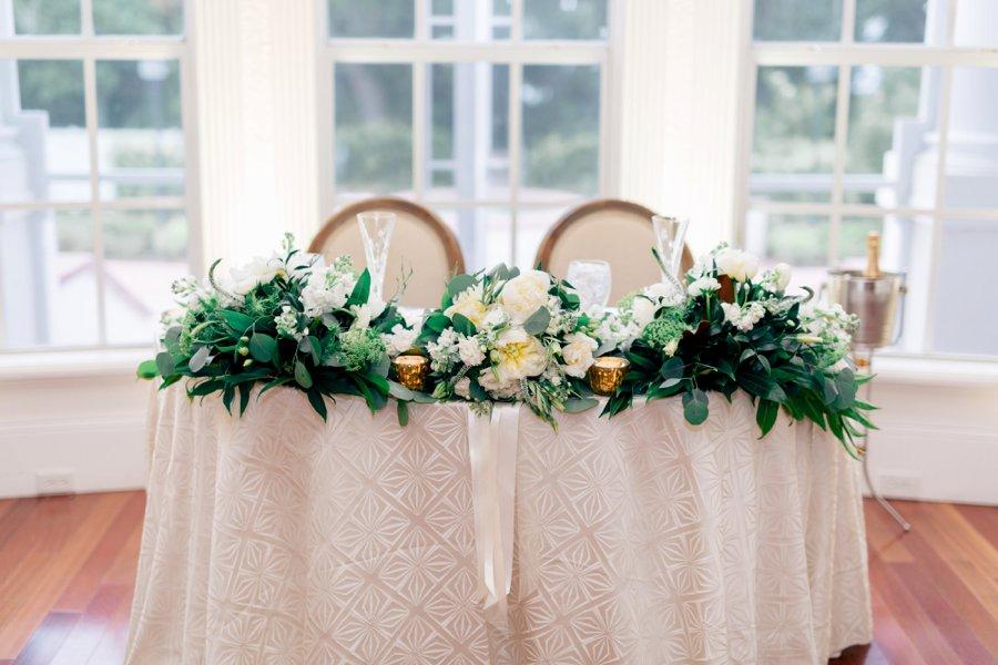 A Classic White, Black Tie Orlando Wedding via TheELD.com