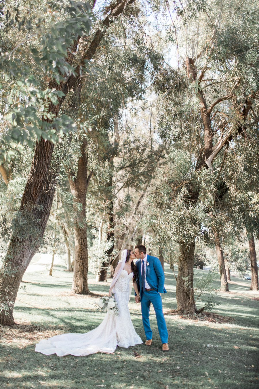 An Elegant Green & White Temecula Wedding via TheELD.com