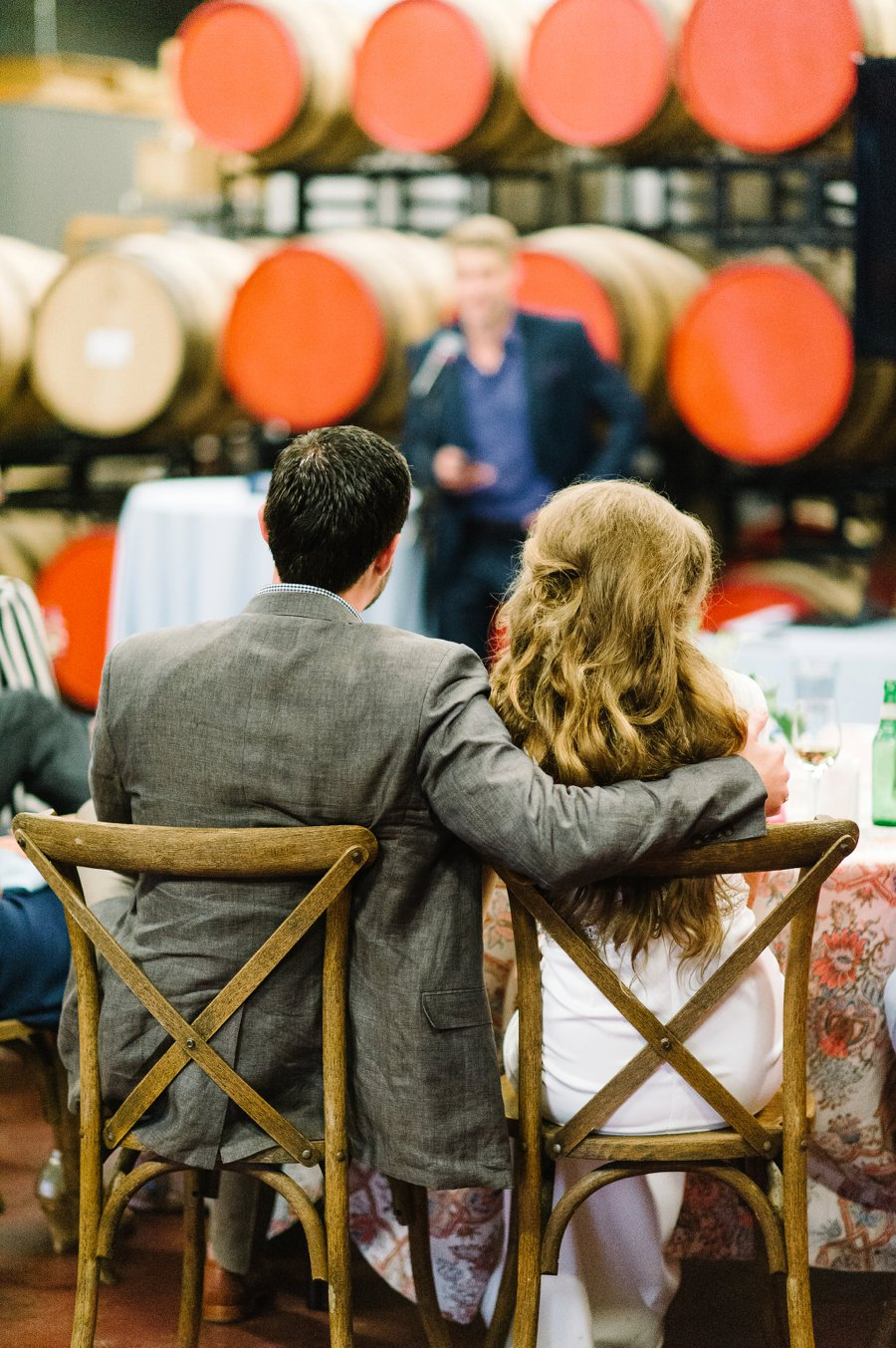 A Charleston inspired Orange & Blue Rehearsal Dinner via TheELD.com