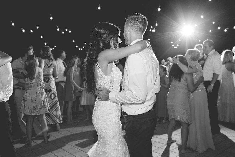 A Pink & Gold Mediterranean Inspired Florida Wedding via TheELD.com