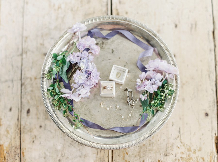 Organic & Romantic Lavender Wedding Ideas via TheELD.com