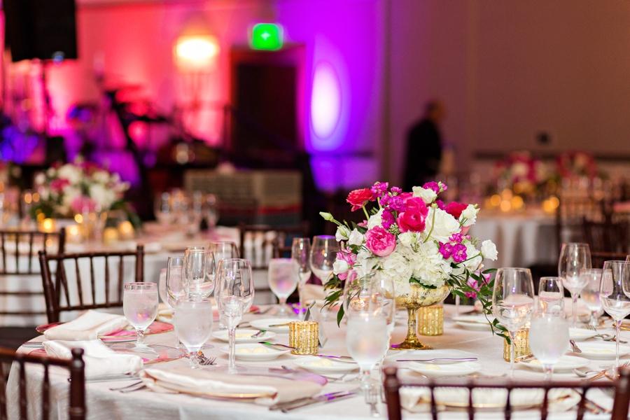 An Elegant Fuchsia Winter Park Wedding via TheELD.com