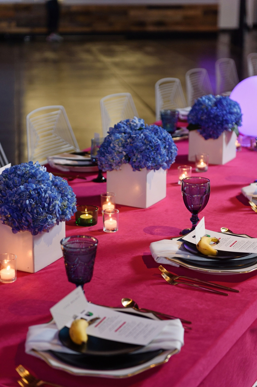 Colorful, Modern Pop Art Inspired Wedding Ideas via TheELD.com