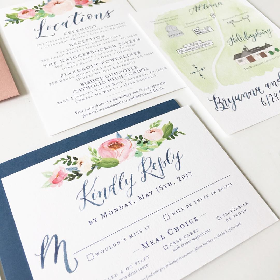 The Wedding Stationery Timeline That Every Couple Needs To Have! via TheELD.com