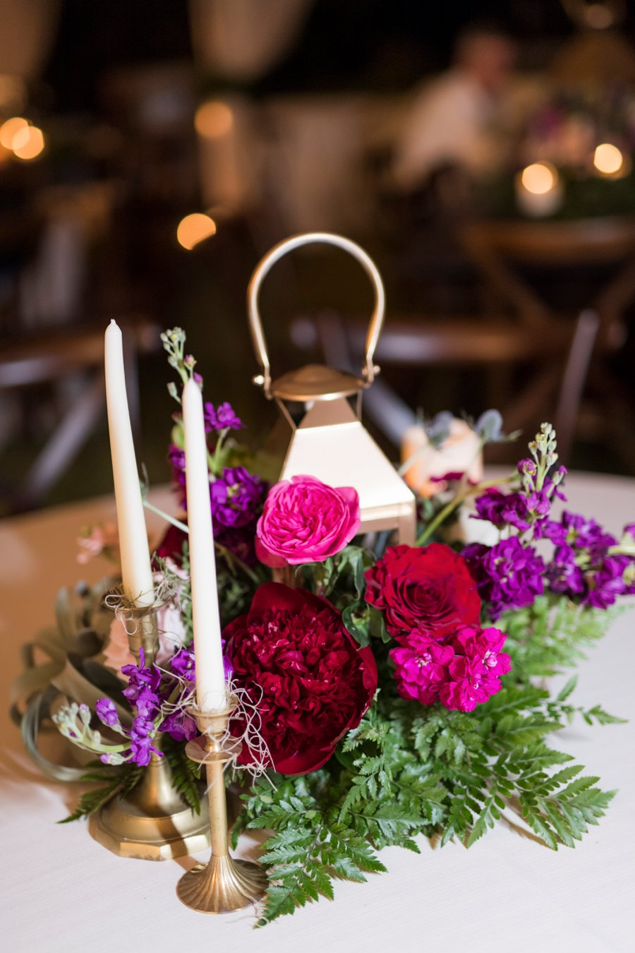 A Jewel toned Elegant Backyard Wedding In Alabama via TheELD.com