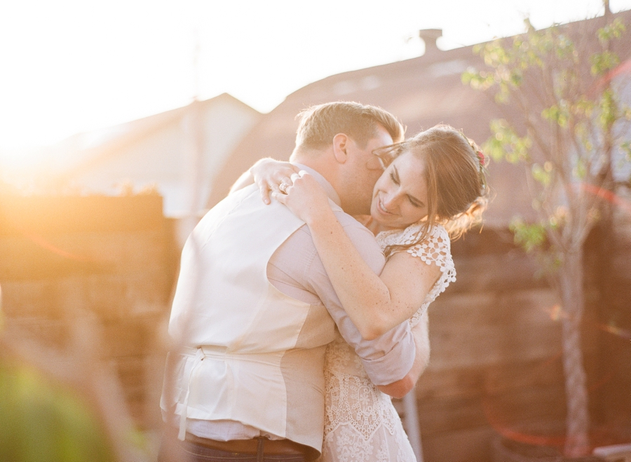 A Colorful Boho California Wedding via TheELD.com