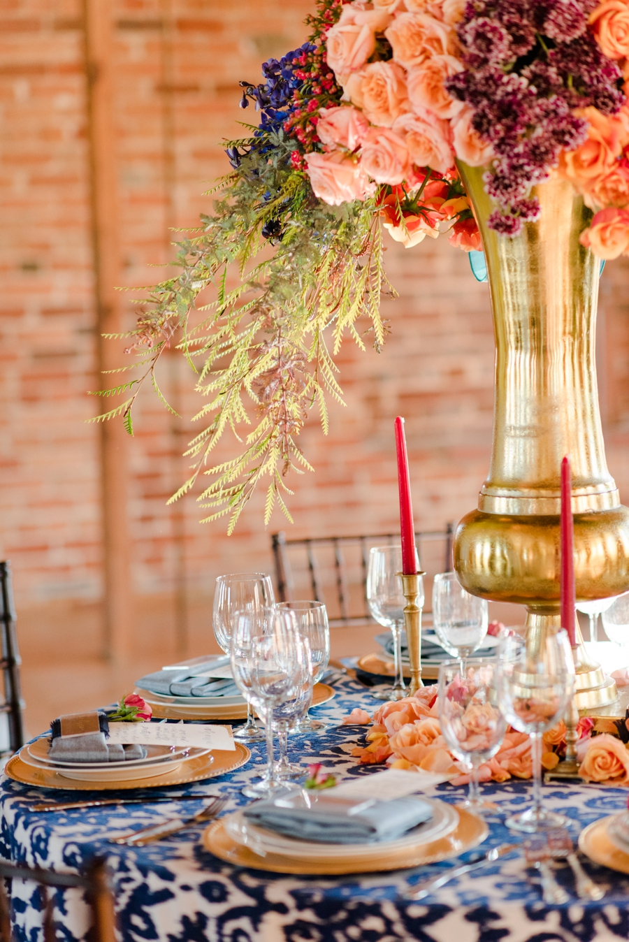 Bold Colorful Wedding Ideas Every Last Detail