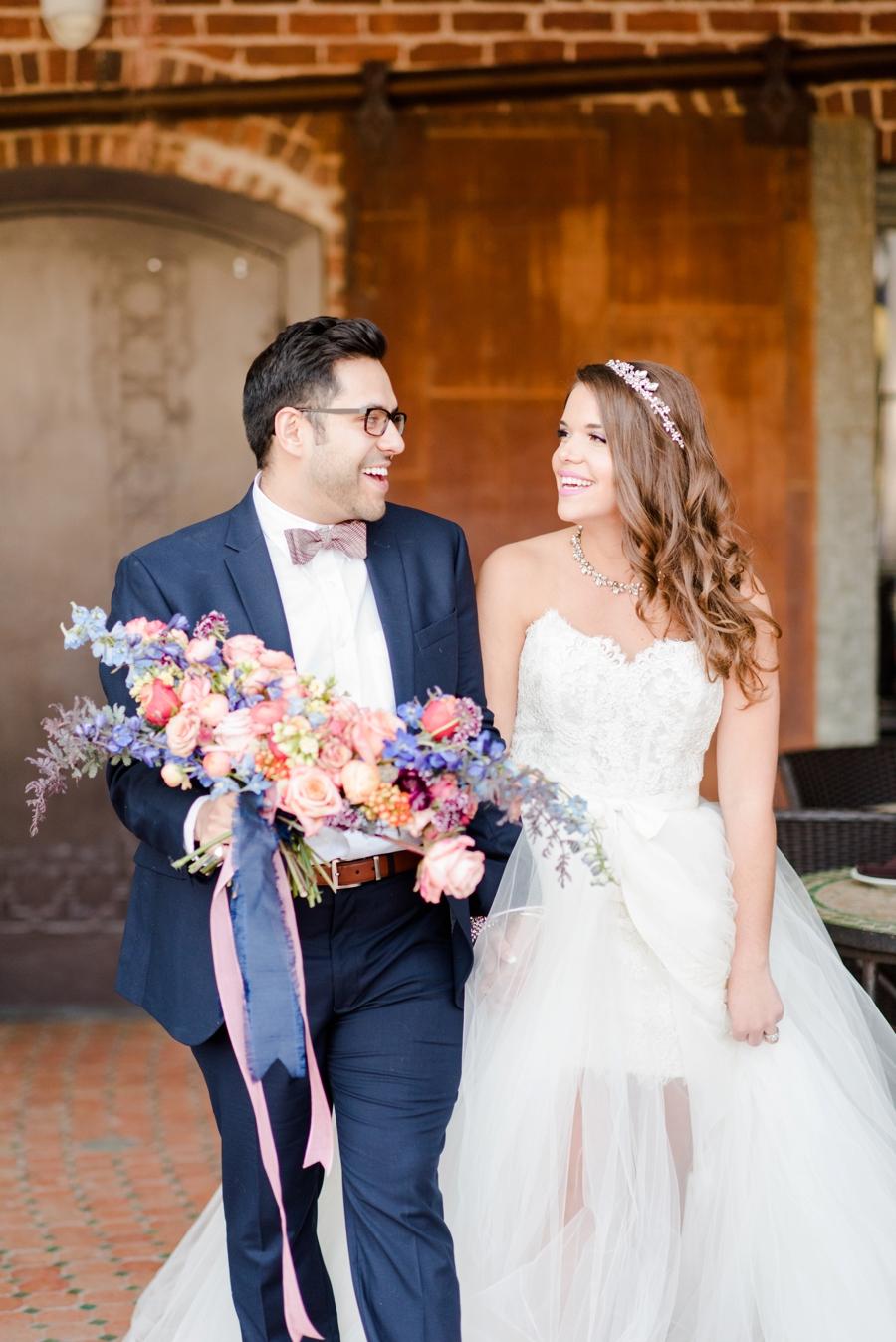 Bold & Colorful Wedding Ideas via TheELD.com