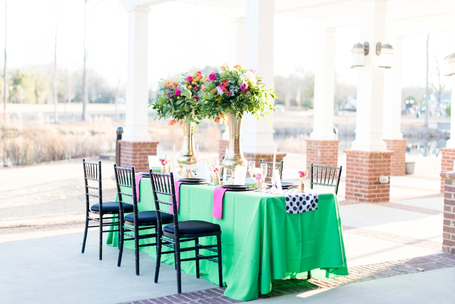 Colorful & Modern Kate Spade Inspired Wedding Ideas via TheELD.com