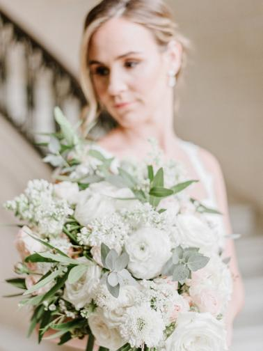 Romantic Blush Spring Inspired Wedding Ideas via TheELD.com