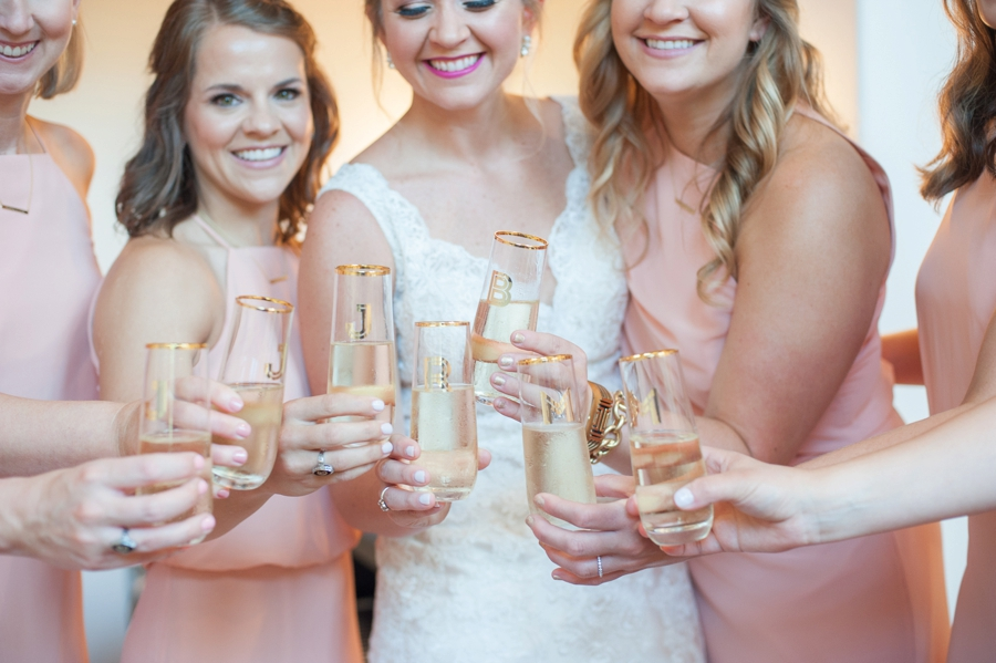 A Romantic Pink South Carolina Wedding via TheELD.com