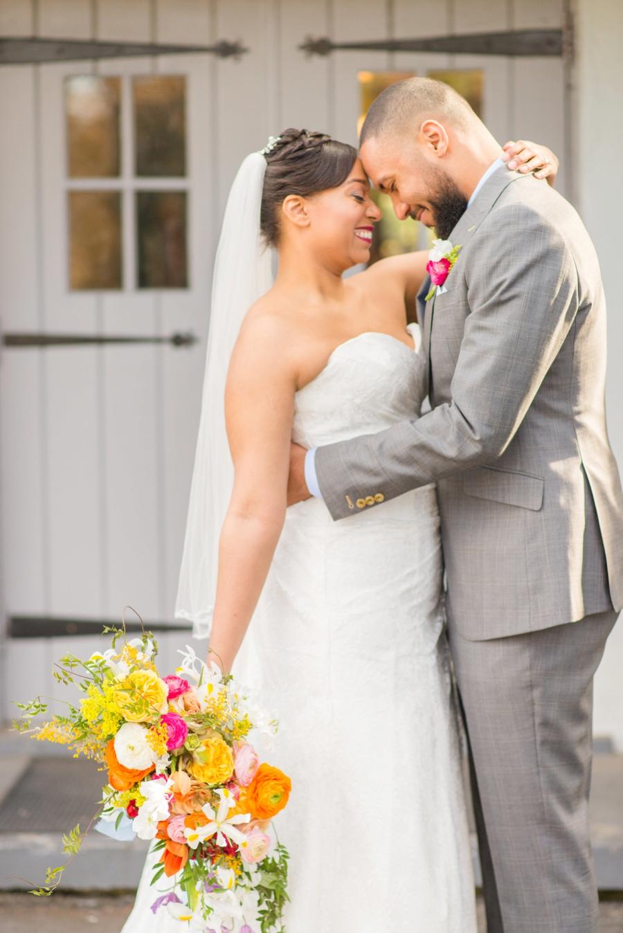 Colorful Mid Century Modern Wedding Ideas via TheELD.com