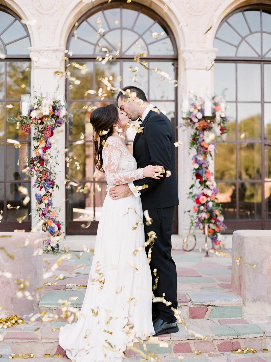 Jewel Toned Vintage Romantic Wedding Ideas via TheELD.com