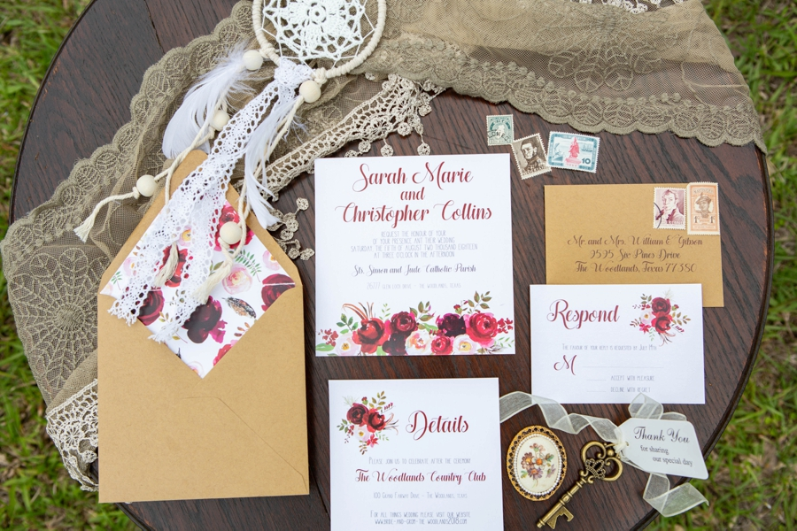 Boho Glam Wedding Ideas via TheELD.com