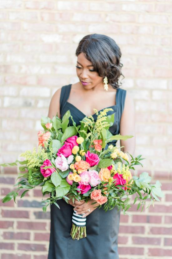 A Tribute: Kate Spade Inspired Wedding Inspiration via TheELD.com