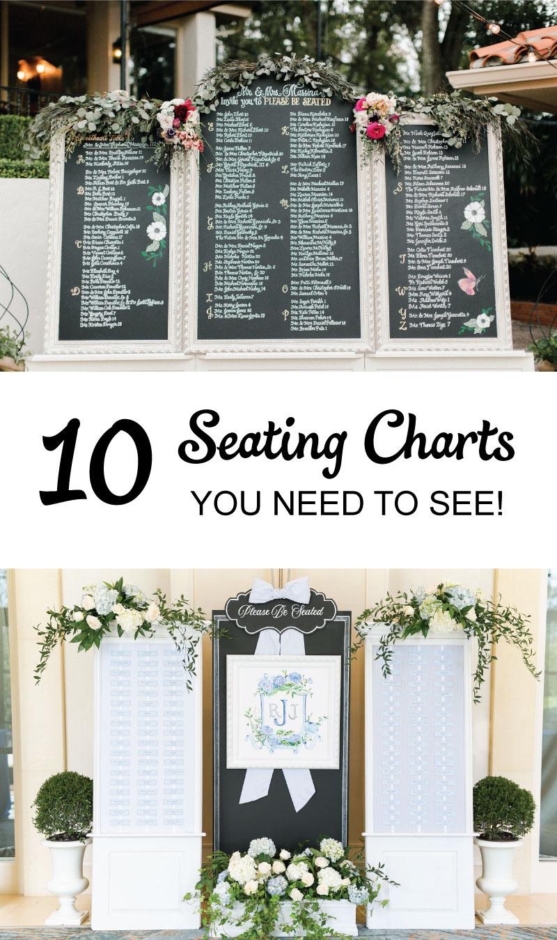 10 Seating Charts You NEED To See! via TheELD.com