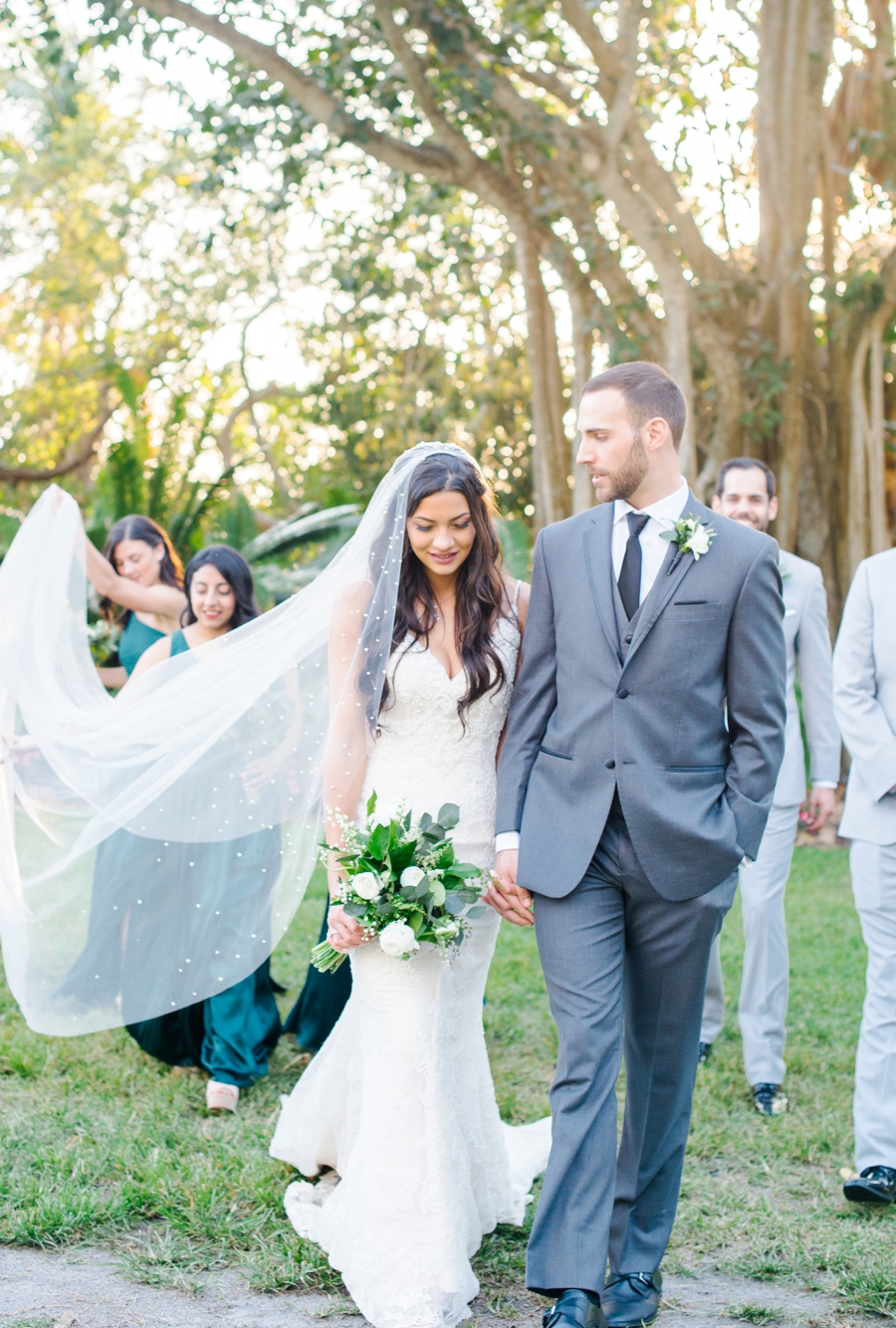 An Elegant Sarasota Garden Wedding via TheELD.com