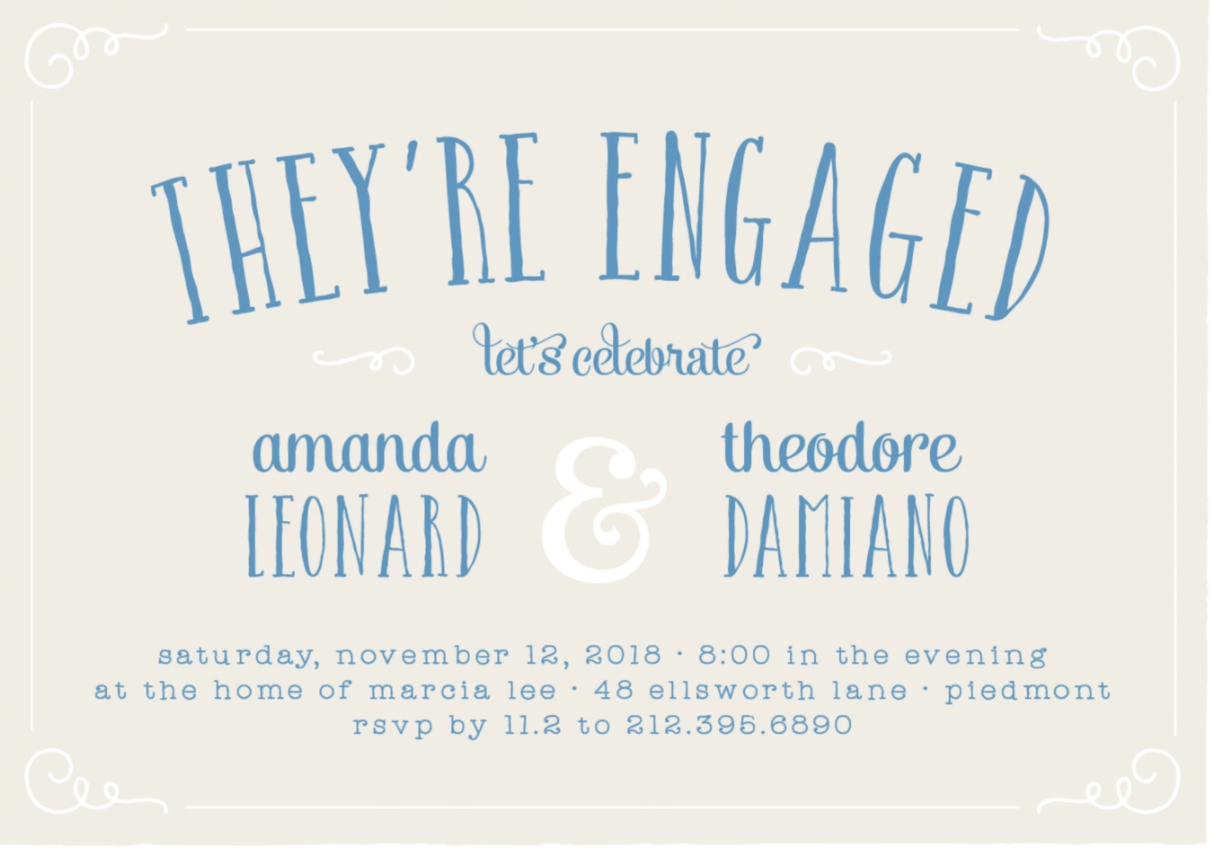 How To Celebrate Your Engagement | Every Last Detail