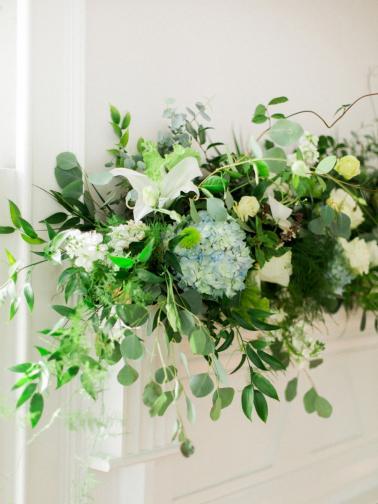 An Organic Intimate Wedding In North Carolina via TheELD.com