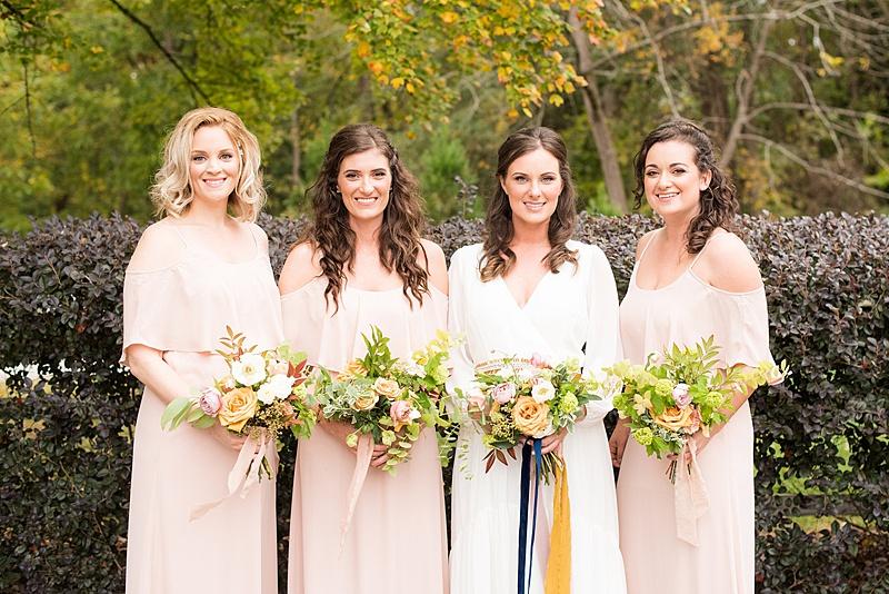Intimate Jewel Toned North Carolina Wedding via TheELD.com