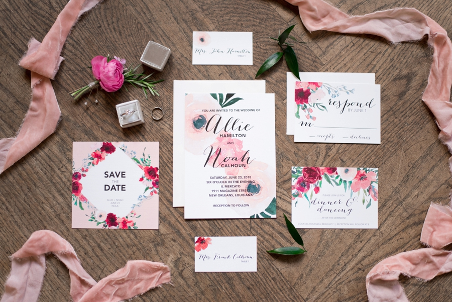 Pink & Gold New Orleans Wedding Ideas | Every Last Detail