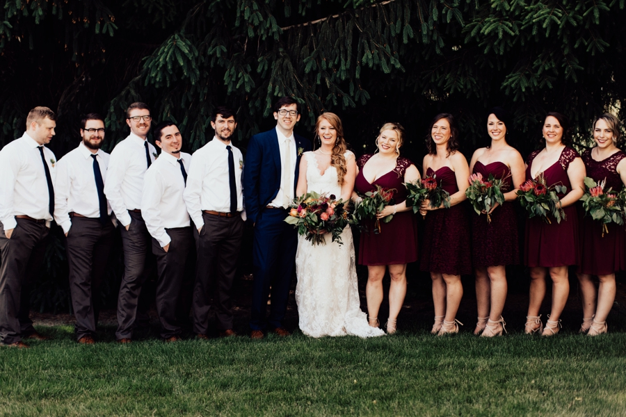 A Charming Boho Cleveland Wedding via TheELD.com