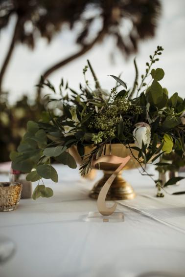 A Romantic Waterside Sarasota Wedding via TheELD.com