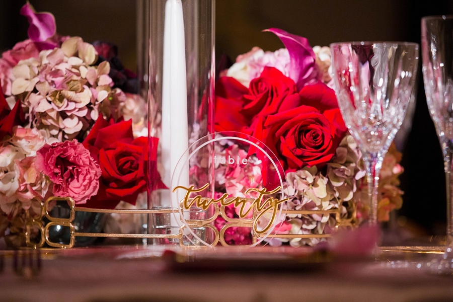 Pink & Merlot Luxe Wedding Ideas via TheELD.com