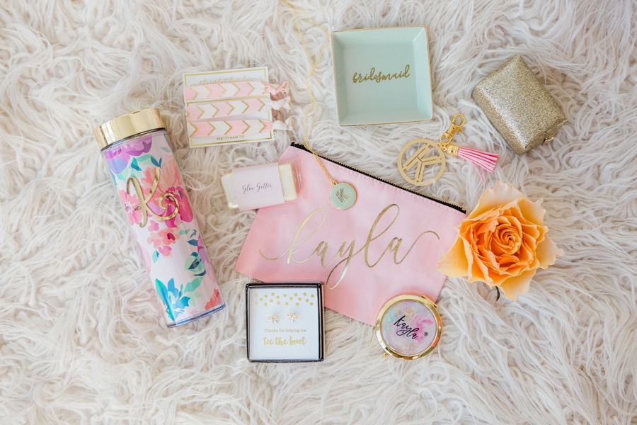 A Bridesmaid Shower Full of Bridesmaid Gift Ideas via TheELD.com