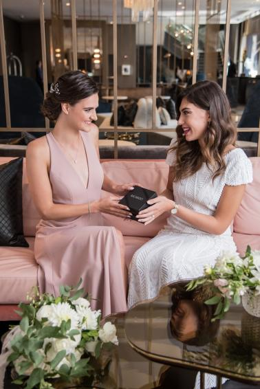 Modern Rooftop Elopement Inspiration With Chic Wedding Day Gift Ideas via TheELD.com modern rooftop elopement inspiration with chic wedding day gift ideas - A Modern Rooftop Elopement Inspiration 0021 378x566 - Modern Rooftop Elopement Inspiration With Chic Wedding Day Gift Ideas