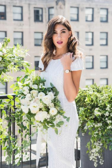 Modern Rooftop Elopement Inspiration With Chic Wedding Day Gift Ideas via TheELD.com modern rooftop elopement inspiration with chic wedding day gift ideas - A Modern Rooftop Elopement Inspiration 0029 378x567 - Modern Rooftop Elopement Inspiration With Chic Wedding Day Gift Ideas