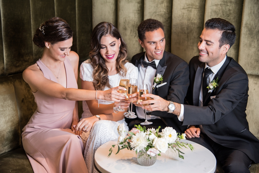 Modern Rooftop Elopement Inspiration With Chic Wedding Day Gift Ideas via TheELD.com modern rooftop elopement inspiration with chic wedding day gift ideas - A Modern Rooftop Elopement Inspiration 0049 - Modern Rooftop Elopement Inspiration With Chic Wedding Day Gift Ideas
