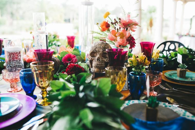 Halloween Inspired Wedding & Party Ideas via TheELD.com