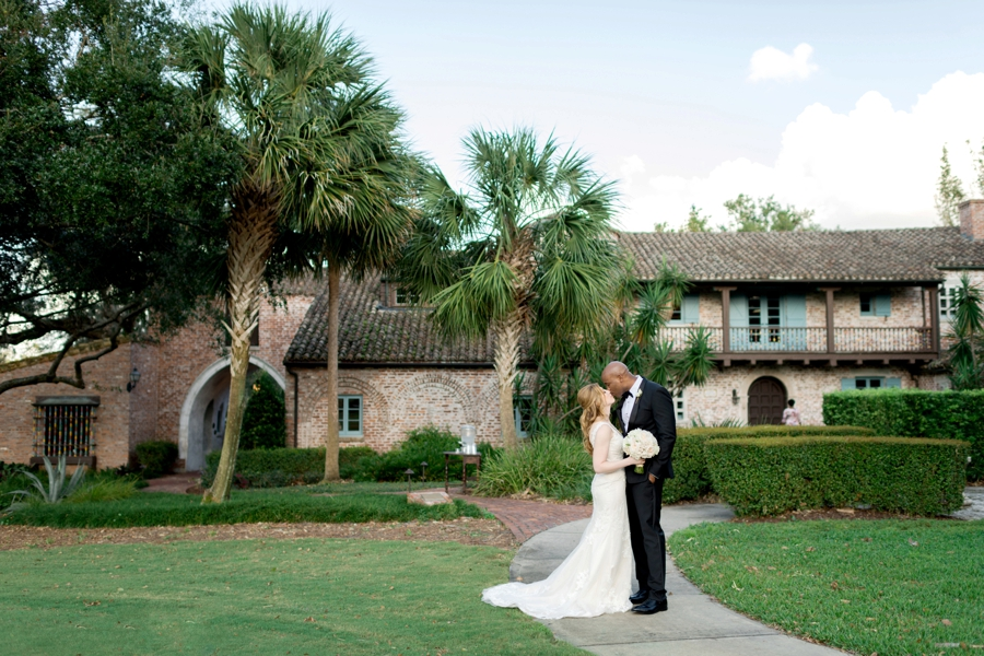 Romantic Pink & White Florida Wedding via TheELD.com