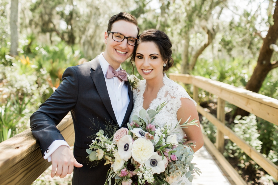 A Romantic Amelia Island Wedding via TheELD.com