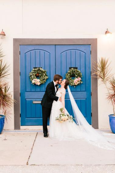 A Romantic Blush & Blue Tampa Wedding via TheELD.com A Romantic Blush & Blue Tampa Wedding - A Romantic Blush Blue Tampa Wedding 0022 378x567 - A Romantic Blush & Blue Tampa Wedding