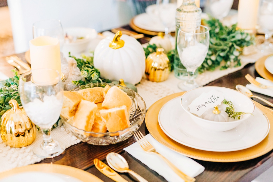 An Intimate, Simple Friendsgiving & Awesome Pumpkin Bread Recipe! via TheELD.com