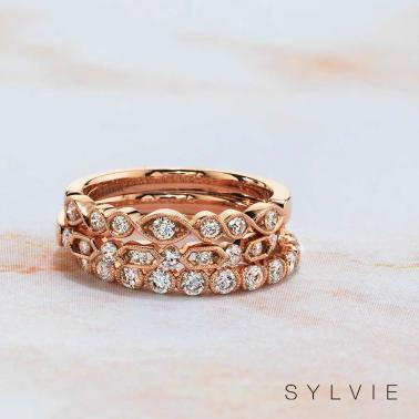 Stackable Diamond Rings You Absolutely NEED... and Can WIN! via TheELD.com