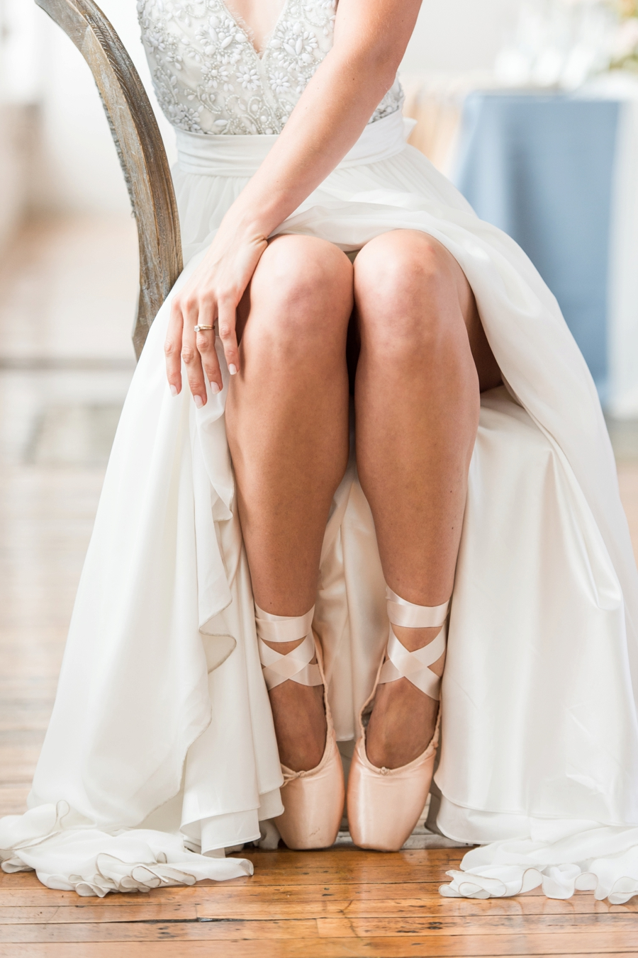 Soft & Elegant Ballet Inspired Wedding Ideas via TheELD.com