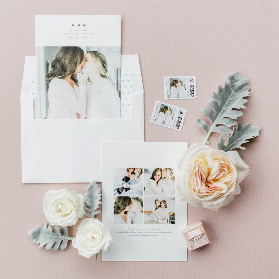 Choosing Save The Dates & Matching Them To Your Wedding via TheELD.com