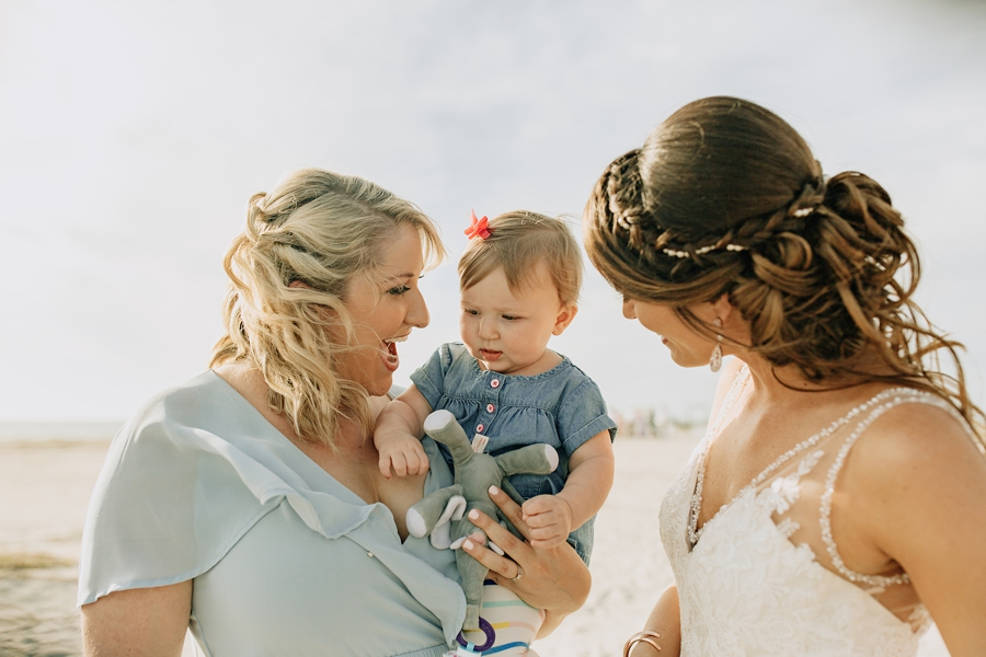 Organic Coastal Inspired Clearwater Beach Wedding via TheELD.com