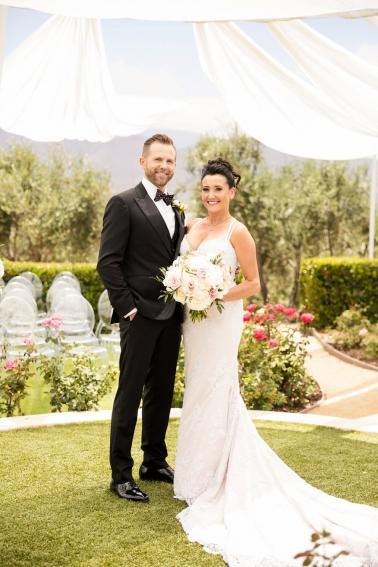 A Glamorous Black Tie California Wedding via TheELD.com