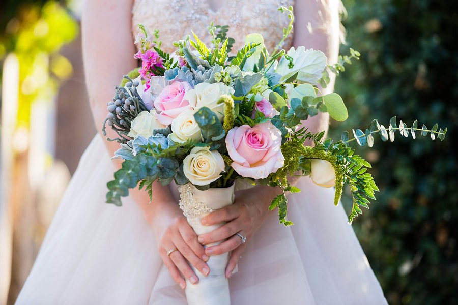 Blush Rustic Vintage Wedding Ideas via TheELD.com
