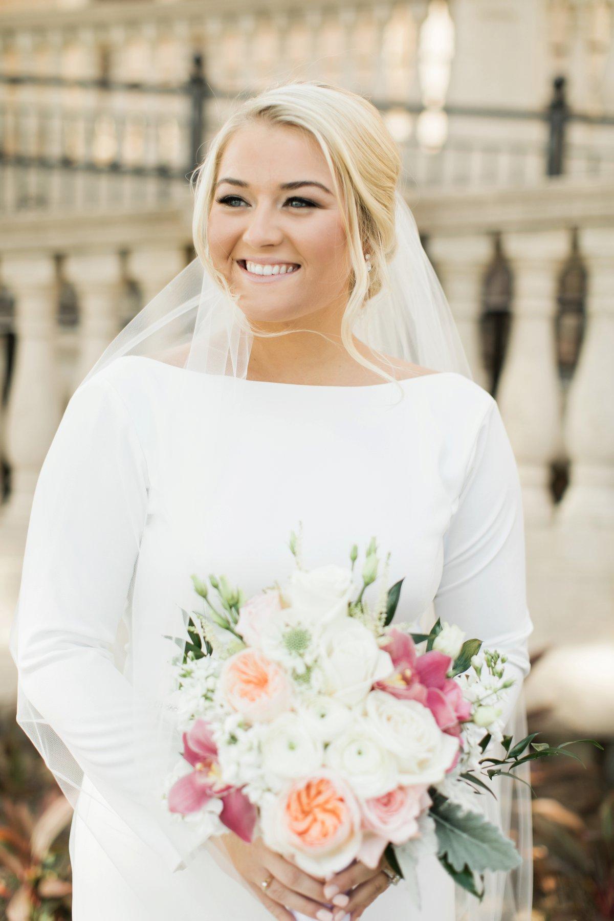 An Elegant Tented Wedding At TPC Sawgrass via TheELD.com