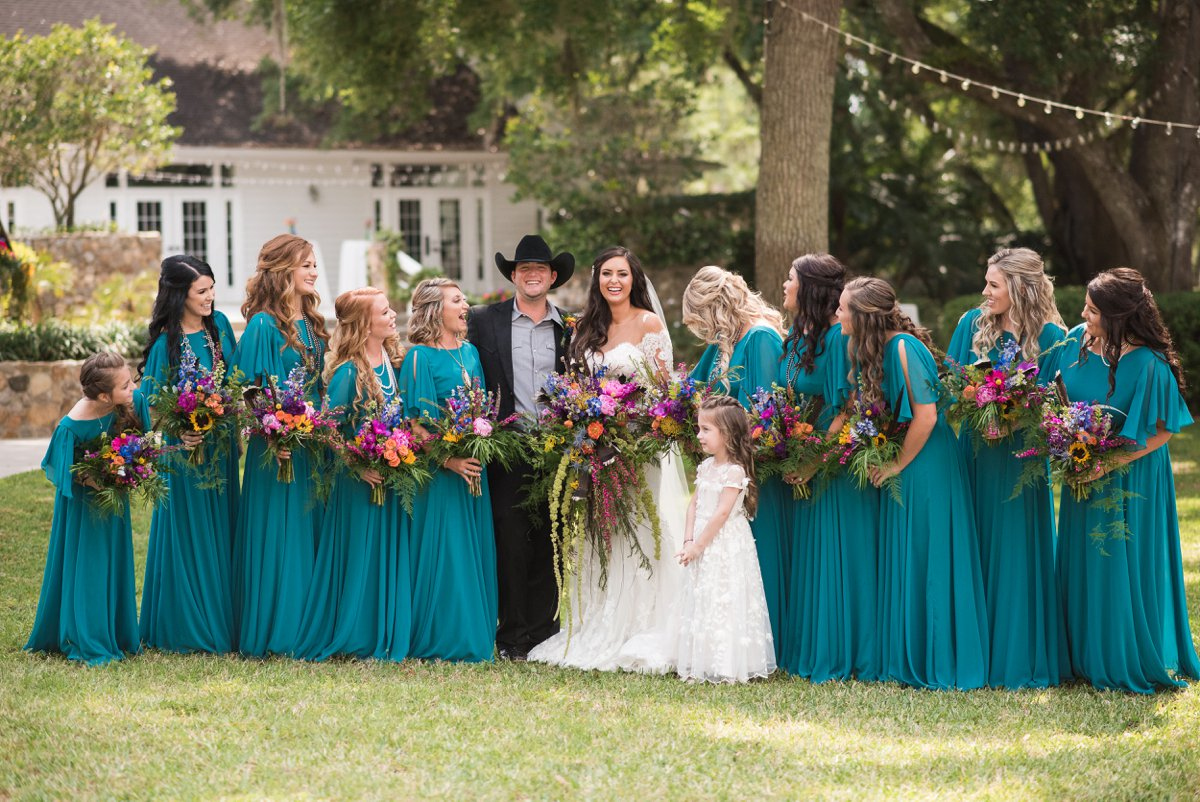 A Country Chic Boho Wedding via TheELD.com