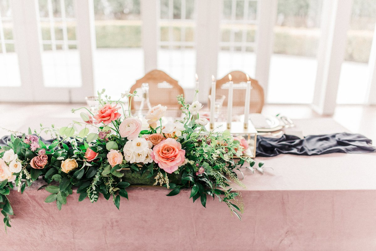 Romantic Dusty Rose Wedding Inspiration via TheELD.com