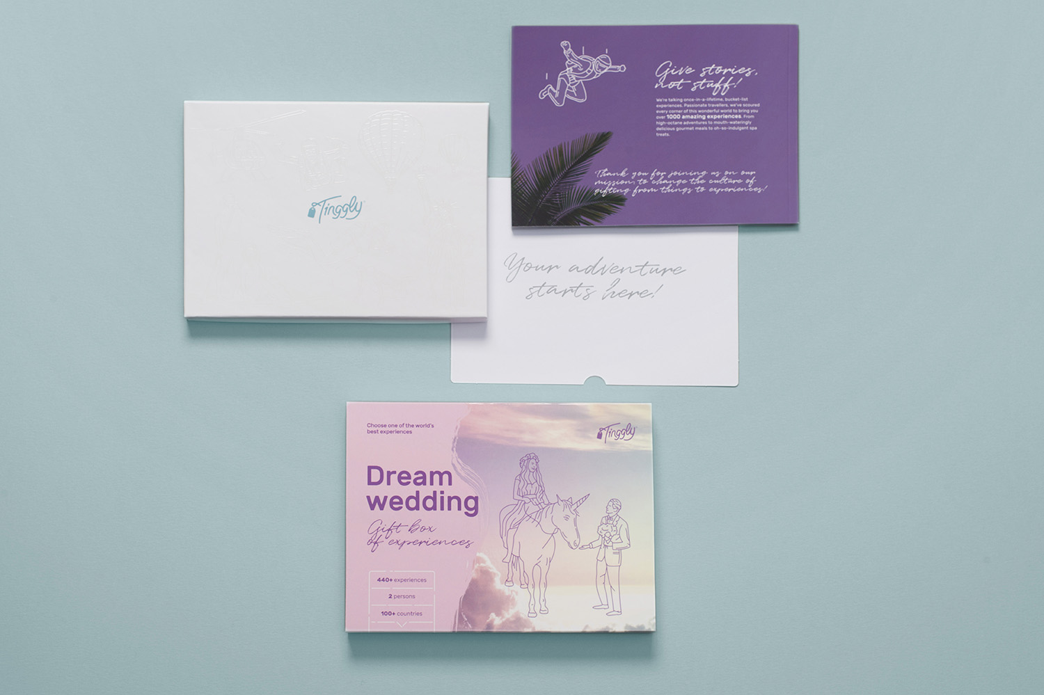 Give the Wedding Gift of Experience with Tinggly via TheELD.com