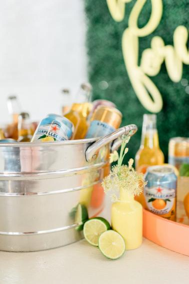 Chic Citrus Italian Inspired Wedding Ideas via TheELD.com